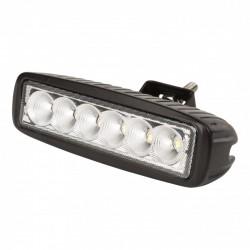 Barra LED para Automóviles Y Náutica 18W 9-33VDC IP68