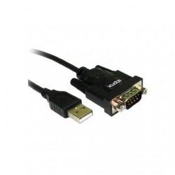 ADAPTADOR USB(A) M A PUERTO COM M APPROX APPPCI2S USB 2.0 M
