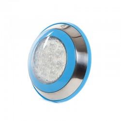 Foco de Piscina de LEDs Montaje Superficie Ø230Mm 12W Multicolor con Mando
