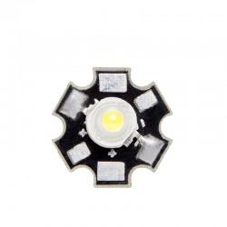 LED High Power 45X45 con Disipador 3W 220Lm 50.000H