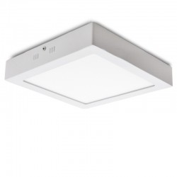 Plafón LED Cuadrado Superficie 300Mm 24W 1900Lm 30.000H