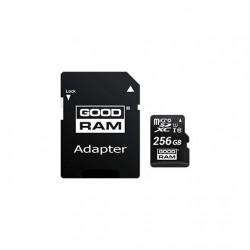 MEM MICRO SD 256GB GOODRAM M1AA CL10 UHS-I+ADAPT