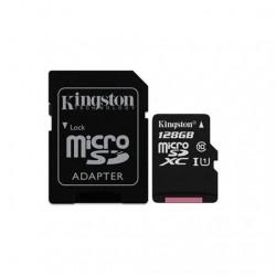 MEM MICRO SDXC 128GB KINGSTON CANVAS SELECT+ADAPT