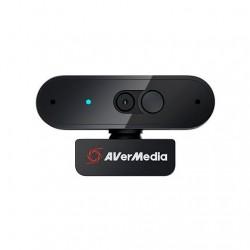 WEBCAM FHD AVERMEDIA PW310P NEGRO 1080P/30 FPS/USB/AUTO FOC