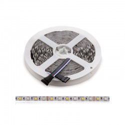 Tira LED 360 X SMD 5050 5M RGB-Blanco Cálido IP25