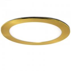 Placa de LEDs Circular Ø170Mm 12W 860Lm 50.000H Dorado