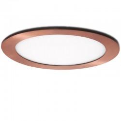 Placa de LEDs Circular Ø225Mm 18W 1300Lm 50.000H Bronce
