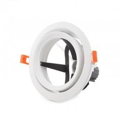 Aro Foco Downlight  Par 30 E27 (Sin Lámpara) Blanco