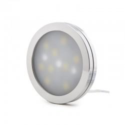 Mini Plafón LED Superficie Muebles 2W 200Lm 30.000H Cable 2M