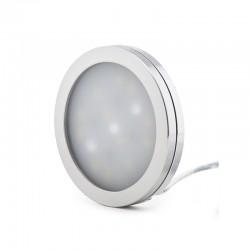 Mini Plafón LED Superficie Muebles 3W 300Lm 30.000H Cable 2M