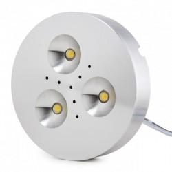 Mini Plafón LED Superficie Muebles 3,5W 300Lm 30.000H Cable 2M