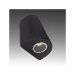 Aplique de Pared LED IP54 2X3W 600Lm 30.000H Luna