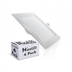 Pack 4 Placa de LEDs 225Mm 18W 1350Lm 30.000H