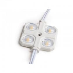 Módulo 4 LEDs Samsung 5630 Inyectado IP67 Óptica 2W 150Lm
