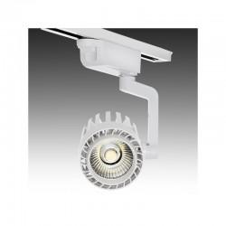 Foco Carril LED Monofásico 30W 2600Lm 30.000H Faith IDI-FC-D-30-CW