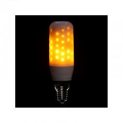 Bombilla LED Efecto Llama E14 3W 25000H