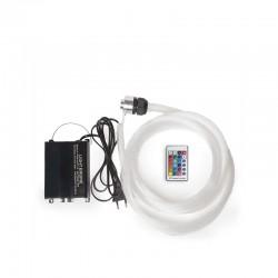 Maquina de Luz Fibra Óptica 150 Hilos 16W LED RGB