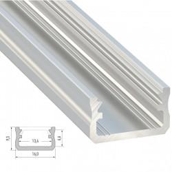 Perfíl Aluminio Tipo A 2,02M
