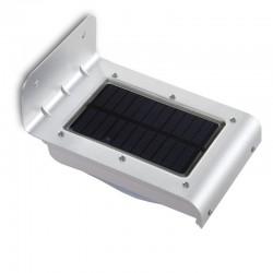 Aplique de Pared LED Solar IP65 16x2835SMD Sensor Luz + Movimiento