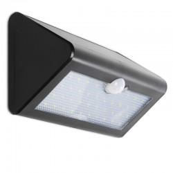 Aplique de Pared LED Solar IP65 38x2835SMD Sensor Luz + Movimiento