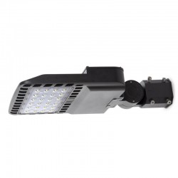 Farola LED IP66 60W 130Lm/W Lumileds 3030 Driver Meanwell Regulable ELG 0-10V