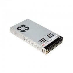 LRS-350-36  Transformador MEANWELL Entrada 90-132/180-264VAC Salida 36VDC 9,7A, 349,2W Aislamiento 3000VAC Sin PFC