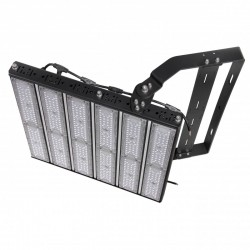 Foco Proyector LED Estadios 600W Lumileds 3030 72000Lm IP65 Regulable