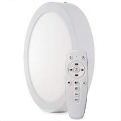 Plafón LED 220mm 18W Mando a Distancia (Intensidad-CCT) 30.000H