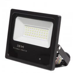 Foco Proyector LED IP65 Detector Movimiento Integrado 30W 30.000H