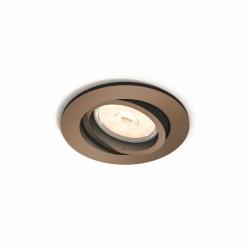 Aro Empotrable Philips Donegal Circular Cobre GU10