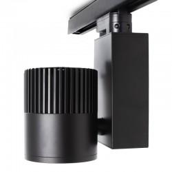 Foco Carril LED Trifásico 30W 90Lm/ W UGR19 50000H [JW-TR30W-BLACK-W]