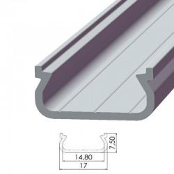 Perfíl Aluminio Tipo ECO P01 1,00M