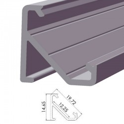 Perfíl Aluminio Tipo ECO P03 1,00M