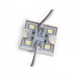 Módulo 4 LEDs SMD5050 1,44W US-LMP5050W4-0001