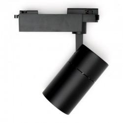 Foco Carril LED Monofásico 30W 36º 2700Lm 30,000H Negro [HO-FC-30W-B-CW]