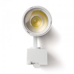 Foco Carril LED Monofásico 30W 36º 2700Lm 30,000H Blanco [HO-FC-30W-W-CW]