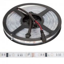 Tira LED 150 LEDs 5M 12VDC SMD5050 Digital RGB GR-LDT-W30DIGRGB-IP67