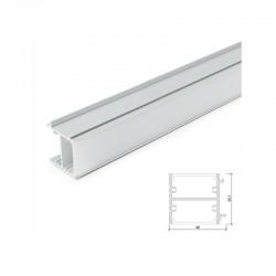 Perfíl Aluminio Espejos Opal x 1M